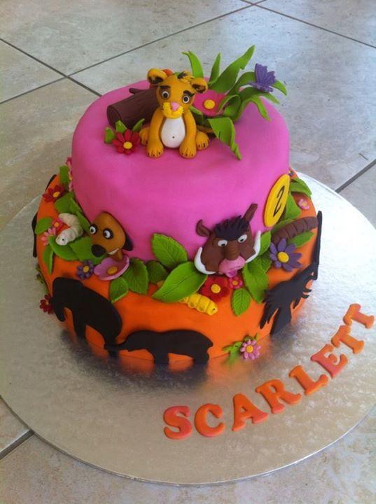 Lion King Cake Decoration Ideas : 167 best images about Cakes - Lion King on Pinterest ...