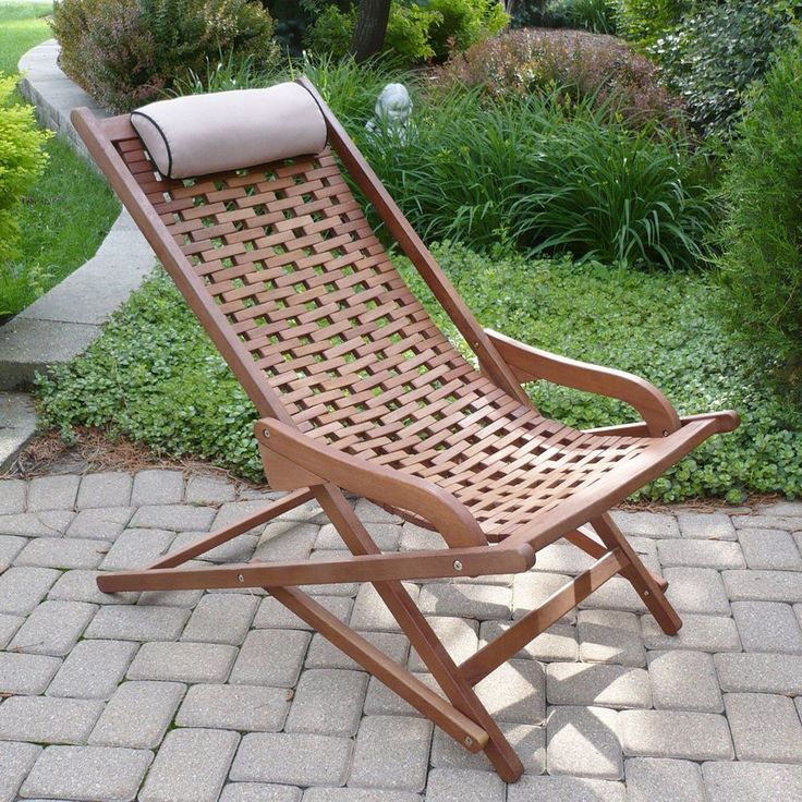 101 best outdoor furniture and decor images on pinterest for Chaise eucalyptus