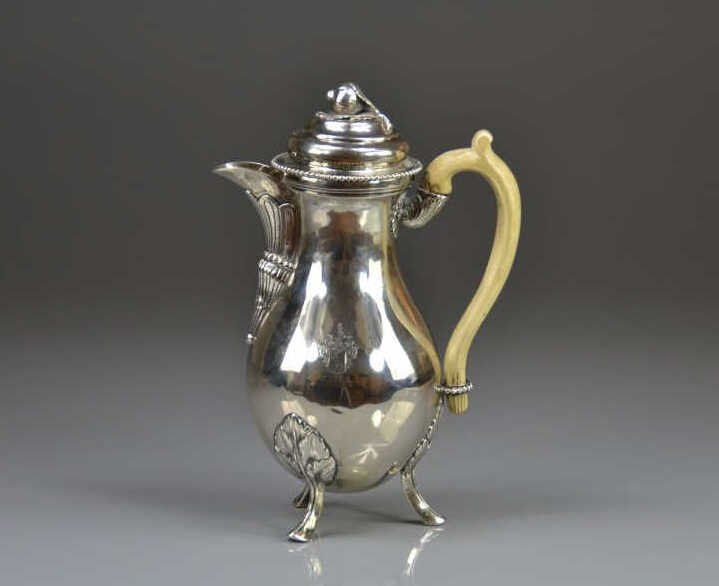 Silver Nagyszombat=Tirnau;pre 1785. Meister;Mathias Szaczlauer