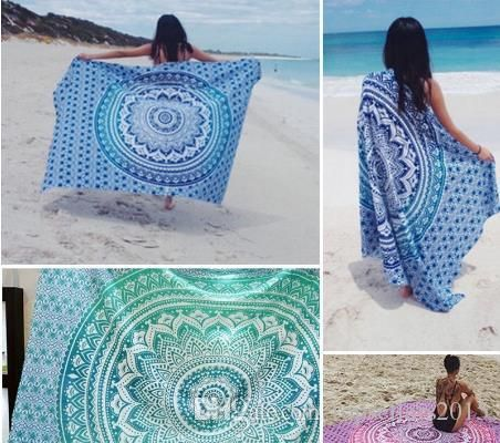Home Decor Mandala Yoga Mat Wall Hanging Boho Beach Mat Throw Tapestry Towel Shaws Carpet Rug Dealers From Topsellers2015, $5.73| Dhgate.Com