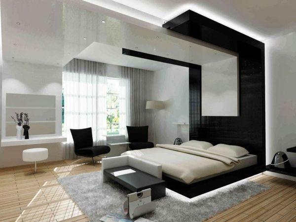 Die besten 25+ Schwarze Schlafzimmermöbel Ideen auf Pinterest - schlafzimmer feng shui farben