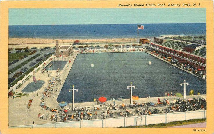 O Brien Auto Park >> Monte Carlo Salt Water Pool, Asbury Park | Vintage Asbury ...