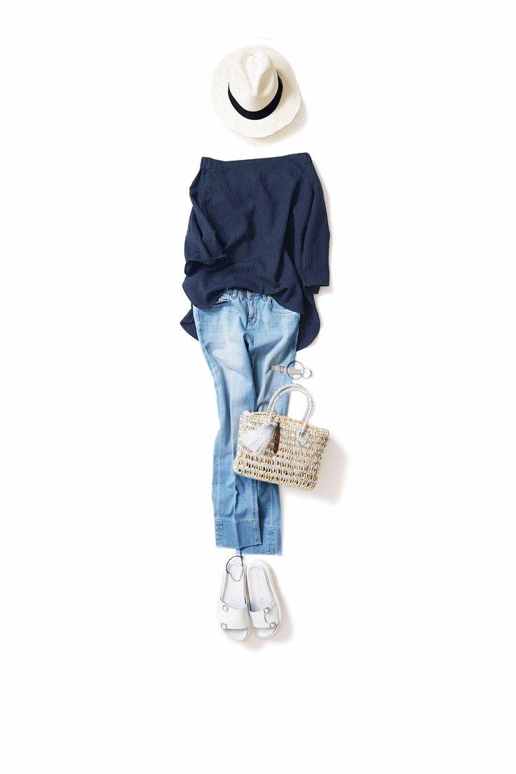 海のようなブルー×ブルー / コーディネート詳細 / Kyoko Kikuchi's Closet | 菊池京子のクローゼット [ K.K closet ]