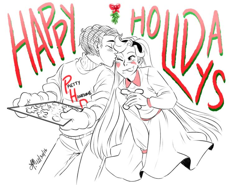 I wanted to post this on Christmas but… Christmas happened so I didn't have any time soooooo…. HAPPY HOLIDAYS EVERYONE!