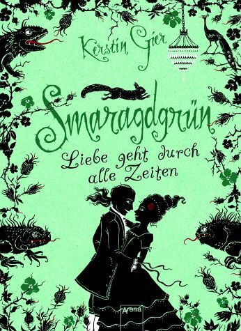 Smaragdgrün. German Book cover