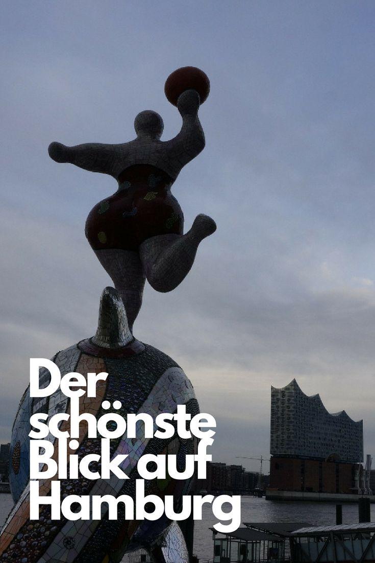 Tipp für Fotografen. Ich verrate dir, von wo aus du ganz Hamburg von den Elbbrücken im Osten bis zur Hafenstraße und darüber hinaus im Blick hast: Elbphilharmonie, Michel, Landungsbrücken inklusive