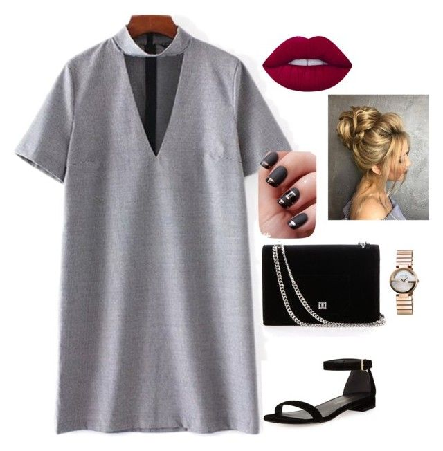 """""""Lisa's"""" by lisawijaya ❤ liked on Polyvore featuring Stuart Weitzman, Lime Crime and Gucci"""