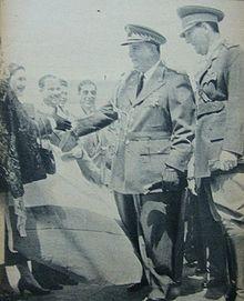 Dictador nicaragüenseAnastasio Somoza Garcia.