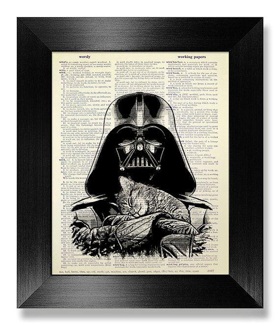 Cadeau de pendaison de crémaillère de Star Wars par MEOWconcept