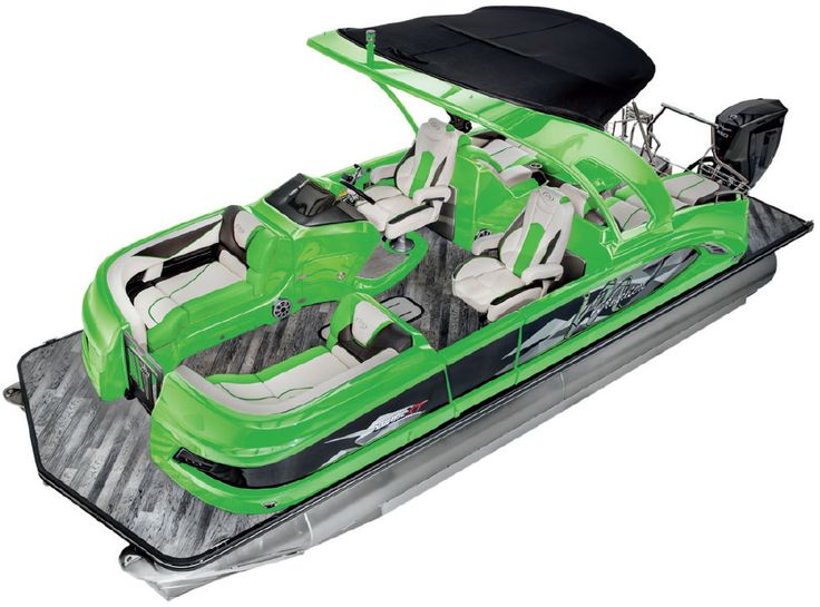 X-Plode XT Color Packages | Manitou Pontoon Boats