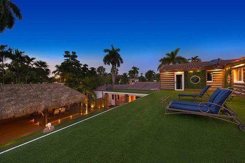 Astro Turf Garden, Small Garden Design And Decking Ideas
