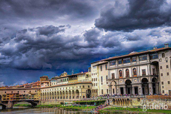 Bolonya - Floransa - Pisa Gidello'da.