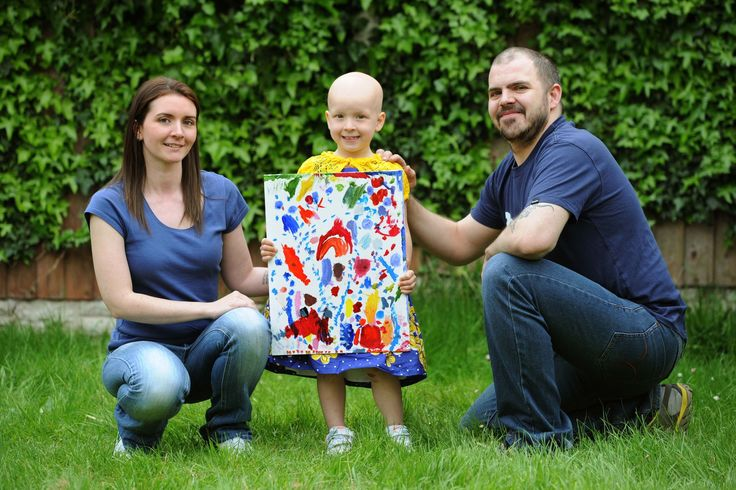 4 Year Old Sydney sells her fab artwork for Alopecia UK! :-)