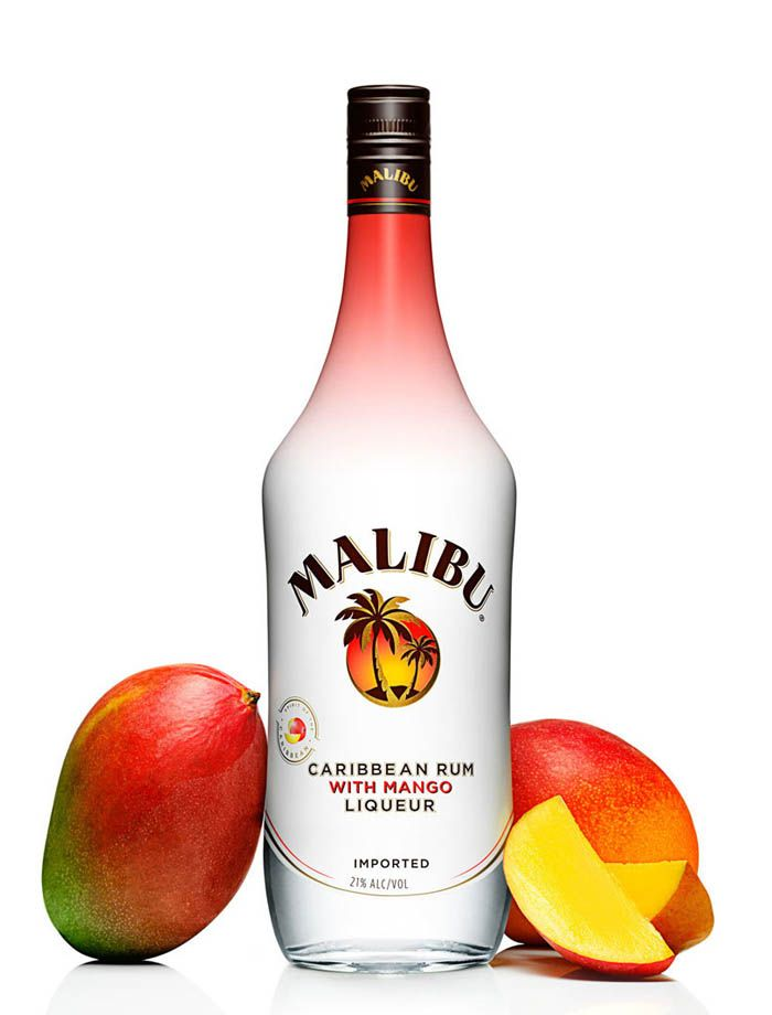 Malibu bottle