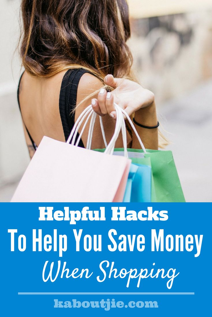 Helpful Hacks To Help You save Money When Shopping     There are actually loads of ways to save money when you go shopping that you may not be aware of, even the simplest things can help you to save!     #savemoney #shopping #shoppinghacks #savemoneyhacks #moneyhacks #saving #savinghacks #parentingforums #mommyforums