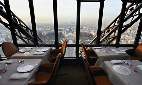 Le 58 Tour Eiffel - Restaurant on the Eiffel tower Paris..... I'll be here in less then 35 days!!!