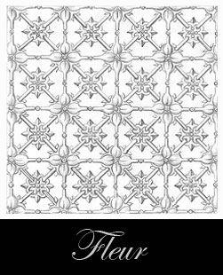 diseño del techo de metal prensado - Fleur
