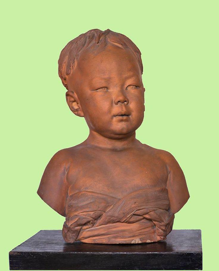 V. Ragusa, Bambino giapponese, 1881, Coll. privata Palermo [foto Gigliola Siragusa]