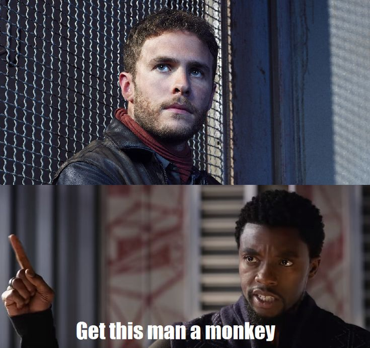 """YES YES YES! BLESS THE PERSON WHO MADE THIS """"get this man a monkey"""""""