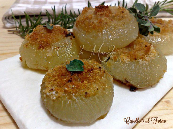 Cipolle piatte al forno, ricette di contorni | Oltre le MarcheOltre le Marche