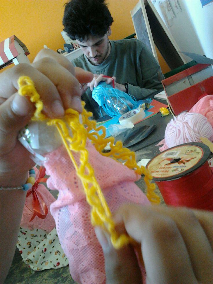 making toys: dolls