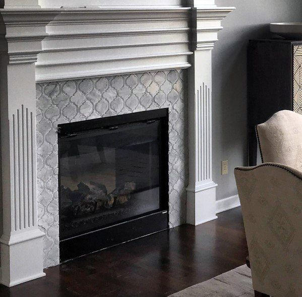 Luxury Home Interior Design: Top 60 Best Fireplace Tile Ideas