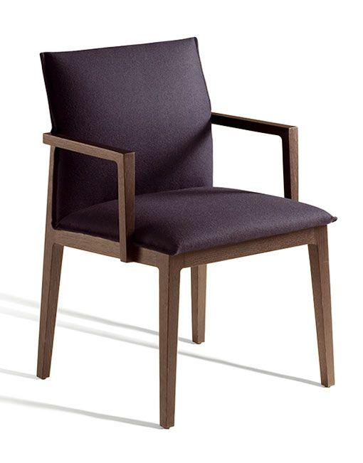 Las 25 mejores ideas sobre respaldos de sillas en for Sillas tapizadas con reposabrazos
