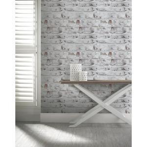 white wash peelable wallpaper