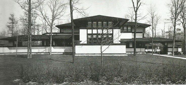 Willits House, Highland Park, Illinois. 19002