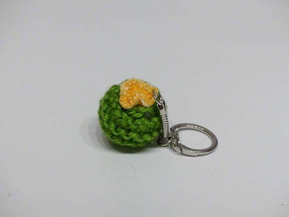 Edmon #cactus #knitting #tricot #porte-clé