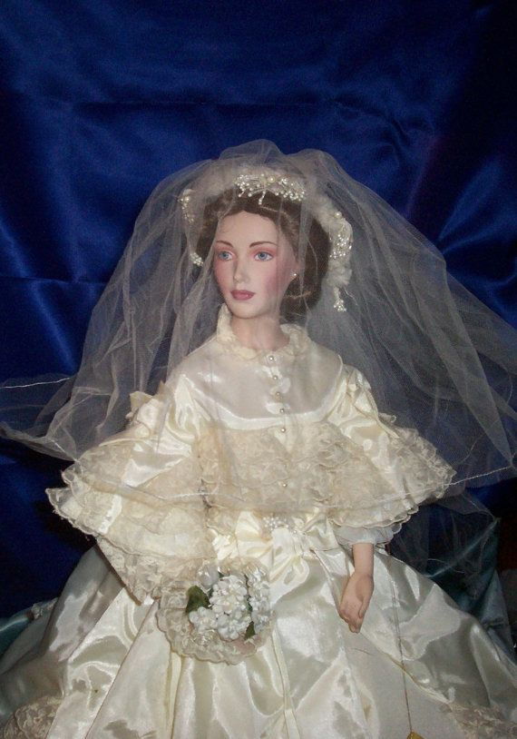Victoria and Albert BRIDE Doll - Limited Edition - BEAUTIFUL Bride - RARE Collectible        PERFECT CONDITION!   This is a steal!  Doll is an $800 doll selling for  $500.OO.  Perfect for a wedding gift!