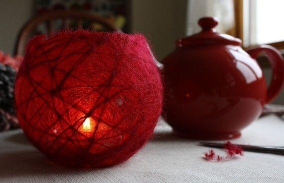 TUTORIAL How to make a candleholder/lantern by red2whiteu. Heel leuk om te maken.
