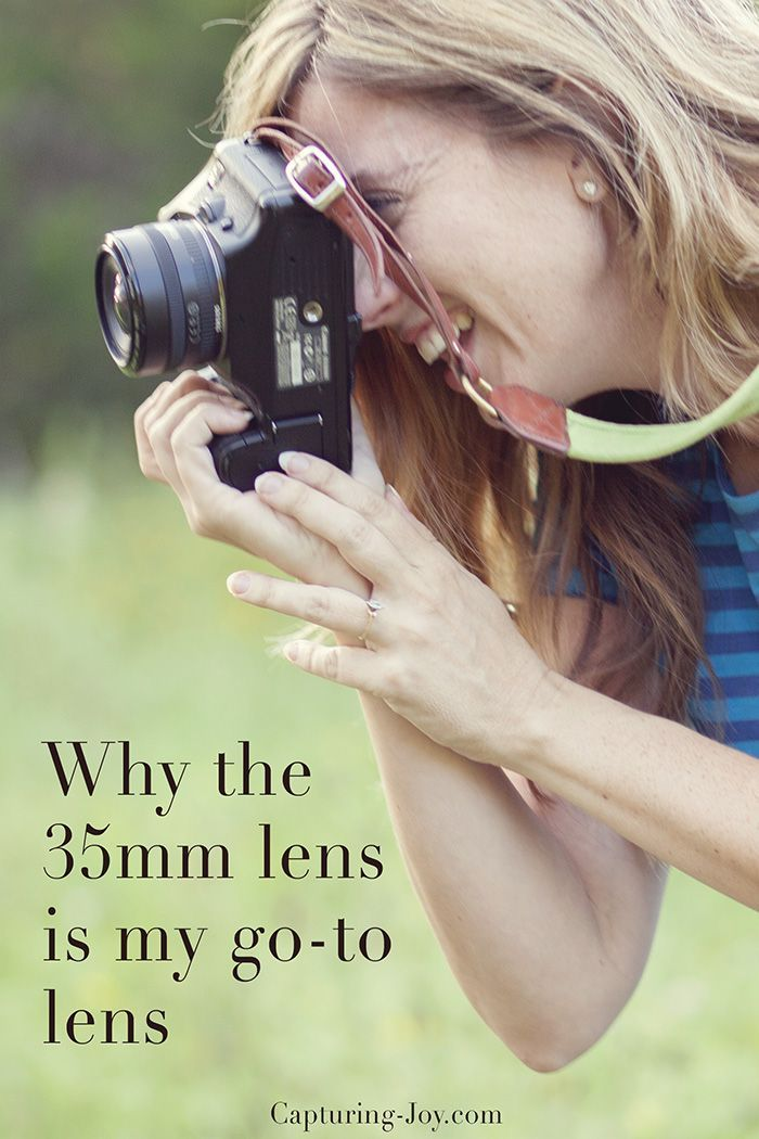Why the 35mm lens is my favorite go-to lens!  A must pin for all photographers! Capturing-Joy.com