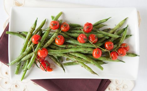 Epicure Balsamic Green Beans & Tomatoes