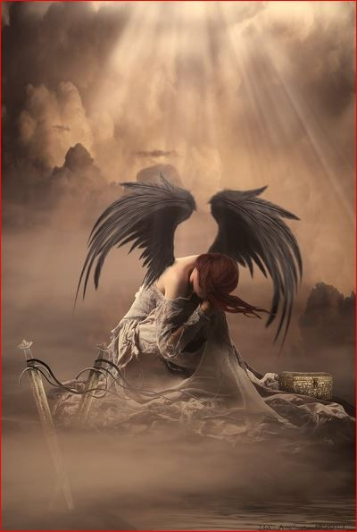 Dark Angel  http://www.babsartcreations.com/pages/190191/Bab_sArtCreations.html