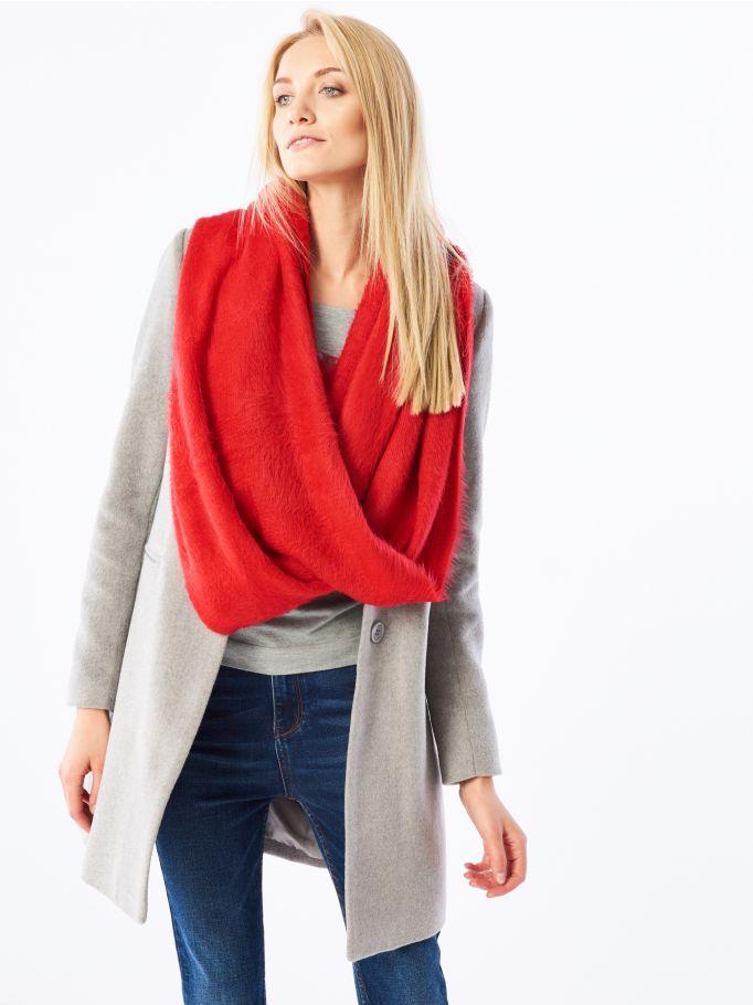 Plush cowl scarf, MOHITO