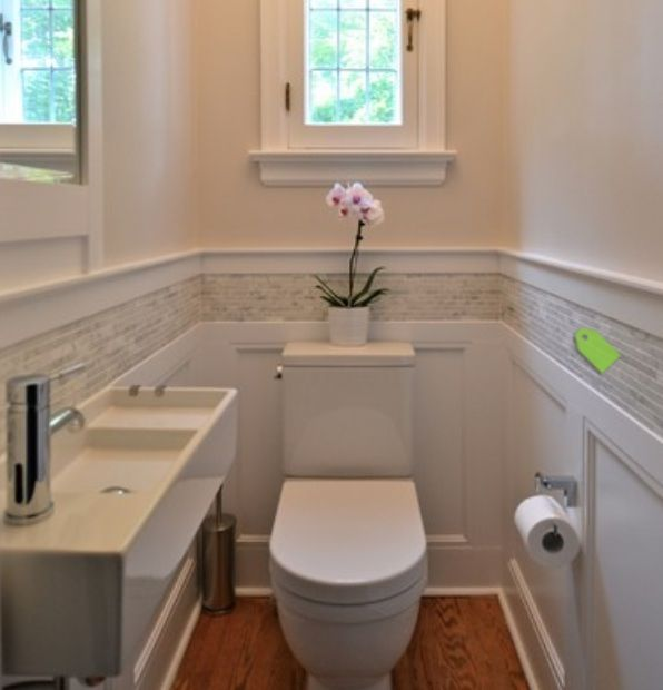 38 best images about half bathroom ideas on pinterest small half bathrooms toilets and half baths - Small bathroom design ideas for maximum utilization of small space ...
