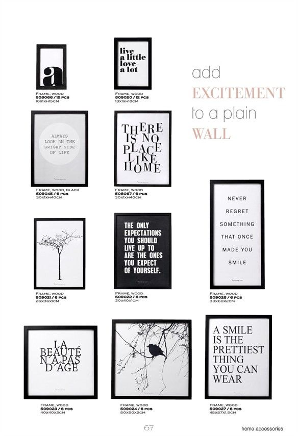 bloomingville posters in frames scandi posters pinterest. Black Bedroom Furniture Sets. Home Design Ideas