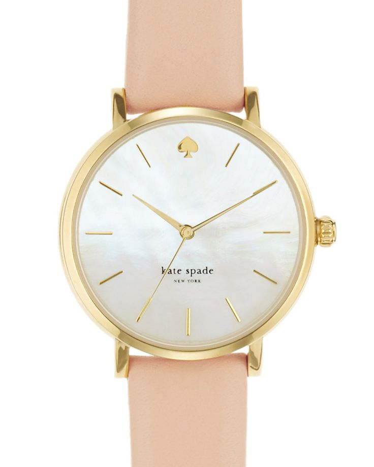 kate spade new york Metro Strap Watch, 34mm | Bloomingdale's