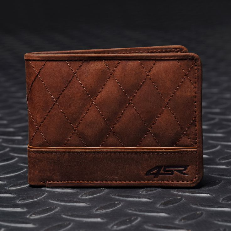 #4SR #wallet CASH | leather wallet by 4SR for bikers #style