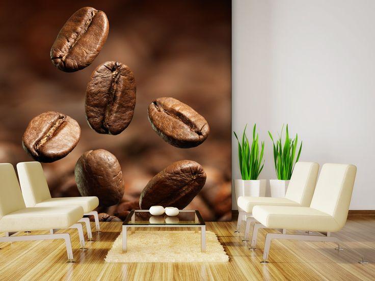 Fototapete Coffee Beans in 280x270cm als Papiertapete von Trend kaufen