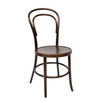 TIMBER BENTWOOD CHAIR HIRE. Our Bentwood Chairs are  exceptional quality and timeless design. With deep timber tones, this classic chair is perfect to pair with rustic wood tables for a casual farmhouse look or with crisp white linens for a more elegant feel. #WeddingHire #YourEventSolution