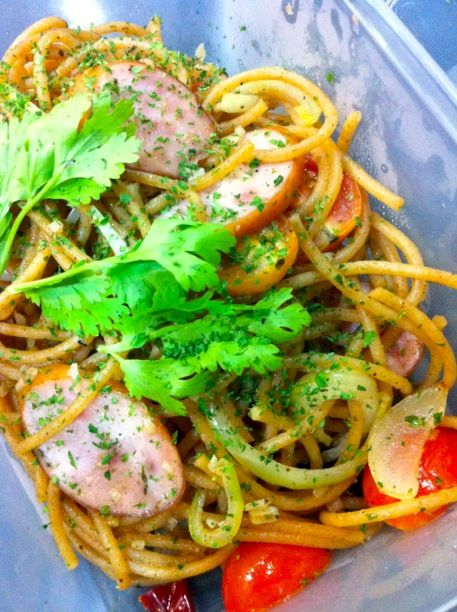 Spaghettini With Garlic And Dried Chile Recipes — Dishmaps