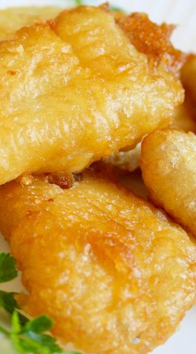 Best 25 fried cod recipes ideas on pinterest oven fried for Fish batter for deep frying