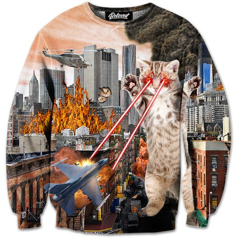 Cat Attack Sweatshirt