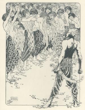 Tenía 13 años cuando Marga Gil Roësset hizo este dibujo de una modernidad escalofriante