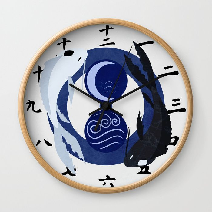 Buy Avatar The Last Airbender Water Clock Face Wall Clock by artofsara. Worldwide shipping available at Society6.com. Just one of millions of high quality products available.