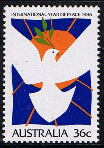 Australia 1986 International Peace Year Fine Mint