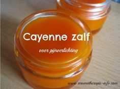 Cayenne zalf is een verwarmende zalf die verlichting geeft bij spier- en gewrichtspijn.