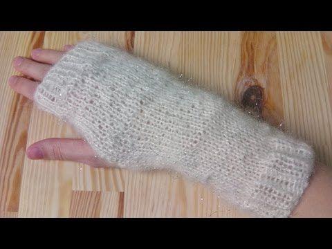 Strickanleitung Handstulpen Armstulpen